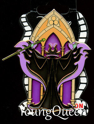 DSSH Disney Stained Glass Series Villains Maleficent Looking Window Le 200 Pin