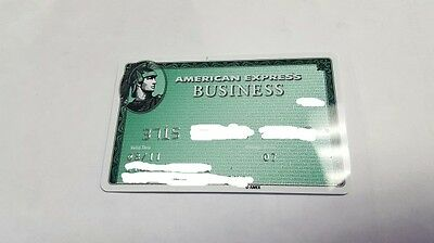 American Express Business Expired Credit Card