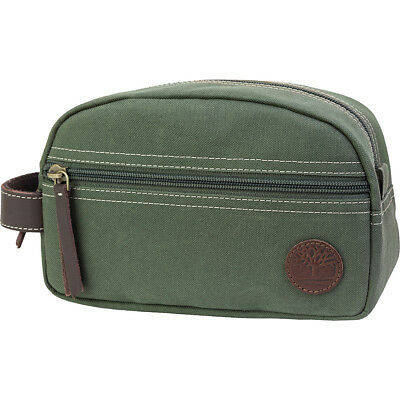 Timberland Wallets Classic Canvas Travel Kit 4 Colors Toiletry Kit NEW