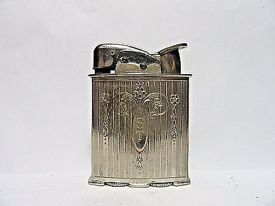 1950's Evans Lighter, Working Condition, Made In USA