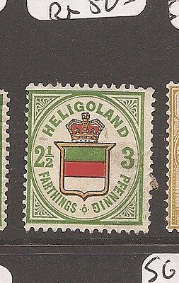 Heligoland SG 12a MNG REPRINT, OR NOT? (8axu)