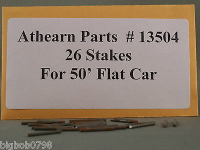 Athearn Parts - Flat Car Stakes - Part # 13504