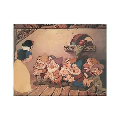 Snow White & The Seven Dwarfs Limited Edition Lithograph Disney Animation Art