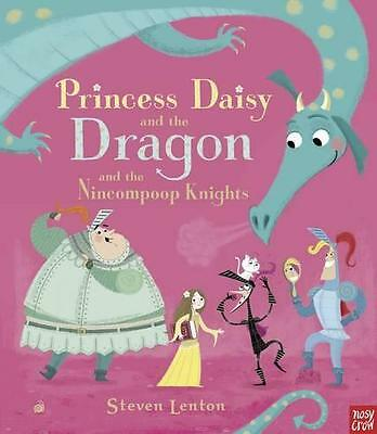 Princess Daisy and the Dragon by Steven Lenton   Paperback Book   9780857632883