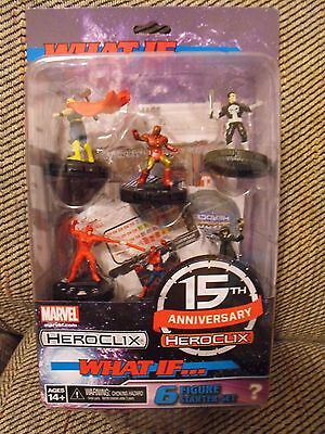 MARVEL HEROCLIX 15th ANNIVERSARY WHAT IF STARTER SET