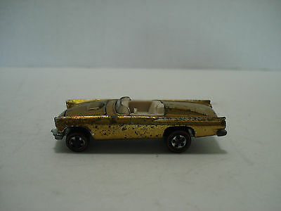 Hot Wheels Red Line Classic 1957 Thunderbird Vintage U.s.a. 1968 Scale 1:64