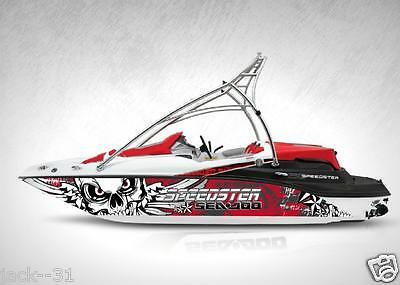 Ng Graphic Kit Decal Boat Sportster Sea Doo Speedster Sport Wrap Dark Water