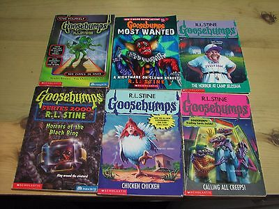 R. L. Stine Original Goosebumps Books Lot of 52 all Different
