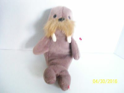 Plush walrus Ty JOLLY Stuffed Animal 1996 pvc 4082 All tags