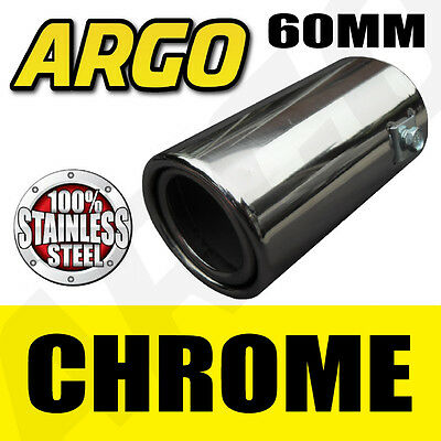 Chrome Exhaust Tail Pipe Fiat 500 Pop Abarth