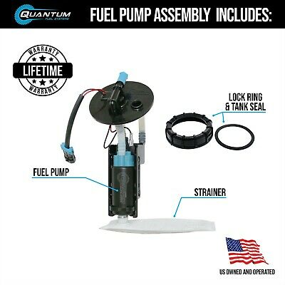 HFP-382HD Fuel Pump with Strainer Replacement for Harley-Davidson Night Train//Softail Night Train//FXSTB//FXSTBI 2001-2007