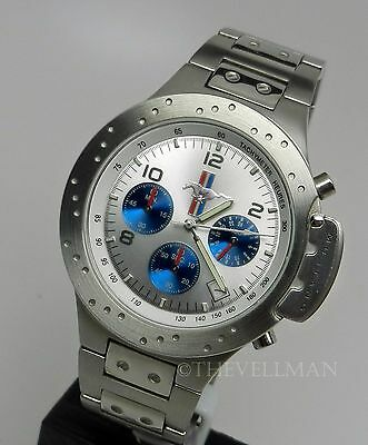 Mens Official Licensed Ford Mustang Brake Rotor Caliper Chronograph Watch In Box