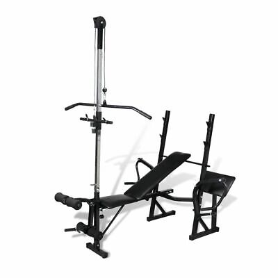 New Fitness Workout Bench Multi Station Weight Press Situp Home Gym Exercise