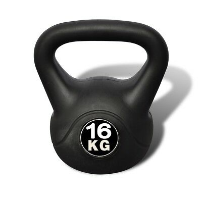 Kettle Bell 16KG Training Weight Fitness Home Gym Exercise Kettlebell Dumbbell