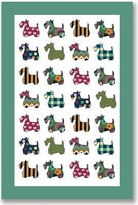 Ulster Weavers UK Dog Collectible Linen Tea Towel  NWT Scottie Scottish Terrier