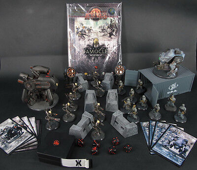 RACKHAM AT-43 Operation DAMOCLES Initiation Set Miniature Game Figure ATSET01
