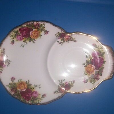 Royal Albert Old Country Roses Tea Cup Snack Saucer Bone China England