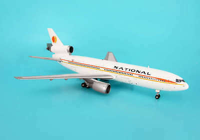 Inflight200 National Airways DC-10 1:200 Diecast Commercial Plane Model IF103037