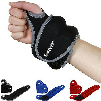 MOVIT Neoprene Weight cuffs with Thumb loops Barrel weights Wrists
