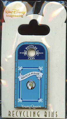 WDI Disney Cast Recycle Bins Jiminy Cricket Trash Can New Orleans Le 300 Pin