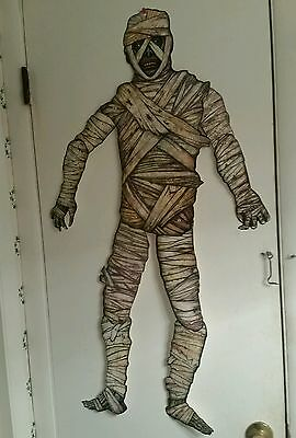 """Beistle 41""""tall-Jointed Halloween��Mummy��Vintage Style Diecut-Get Yours-Today!"""