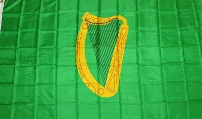 NEW 3x5 IRISH PROV LEINSTER IRELAND HARP FLAG
