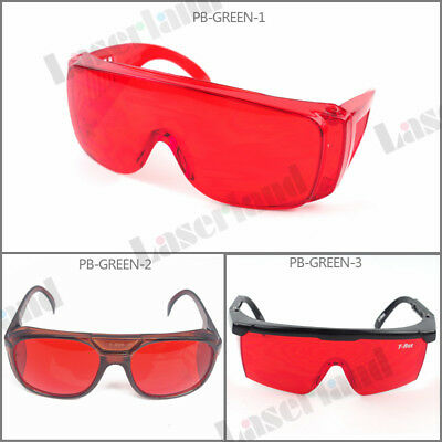 OD 4+ Protection Goggles Eyewear 405nm Violet 532nm Green Laser Safety Glasses