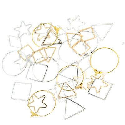 36pcs Assorted Earring Findings Charms Pendants for DIY Jewelry Making Craft