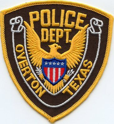 Overton Texas Tx Police Patch