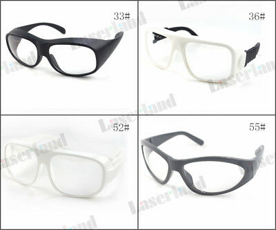 10600nm OD6+ CO2 Laser Protective Goggles Safety Glasses CE