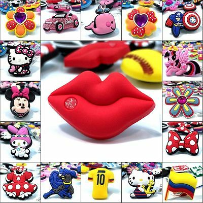 Free DHL Lovely Cartoon PVC Shoe Charms Shoe Accessories Decoration Kids Gifts