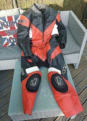 alpinestars 2 piece leathers