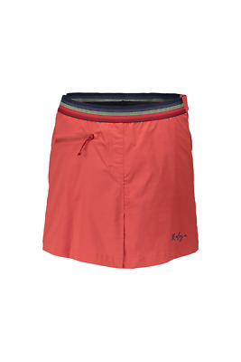 Maloja Multi Shorts de sport Pantalon fonctionnel Jupe rouge BanseeM. Stretch