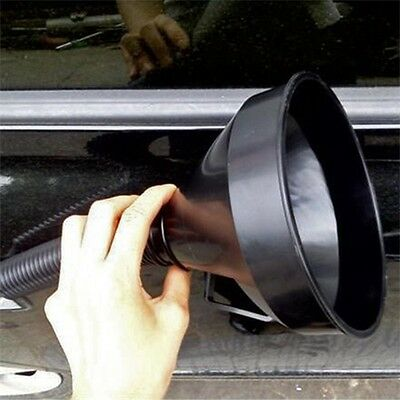 Useful Flexible Car Motorcycle Funnel Spout Mesh Screen Strainer Gasoline Oil A