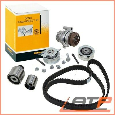 Contitech Timing Cam Belt Kit Water Pump Ct1139Wp2 Toothed Chaim Cog