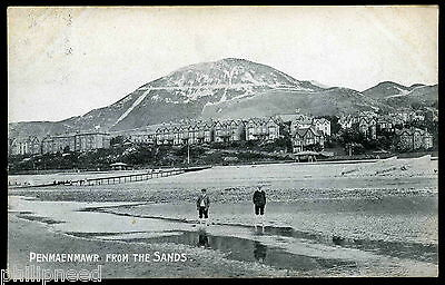 Penmaenmawr From Sands Posted At Rso, L.f.bartle [A948