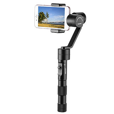 Neewer Z1-Smooth-C Stabilizzatore 3 Assi Brushless per iPhone Huawei Smartphone