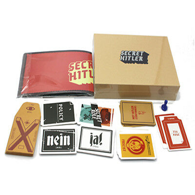 Secret Hitlers Board Game English Version Party & Porker Cards For 5-10 players
