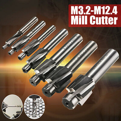Pilot Slotting Tool Counterbore Mould End Mill Cutter Solid Slot Drill Bit HSS