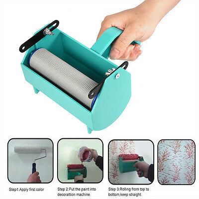 Green DIY Wall Painting Machine For Roller Brush Great Tool Home Decoration
