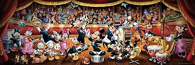 NEW! Clementoni Disney Classic 1000 piece panoramic jigsaw puzzle 39347