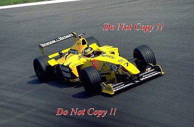 Damon Hill Jordan 199 Italian Grand Prix 1999 Photograph 1