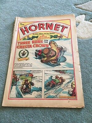 THE HORNET Comic No16 #16 1963 1st Christmass Retro Vintage Vgc Beano Dandy Rare