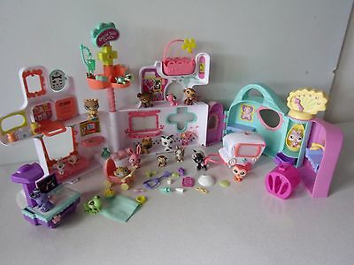 LITTLEST PET SHOP  HÔPITAL + AMBULANCE  + FIGURINES + ACCESSOIRES -n°42-