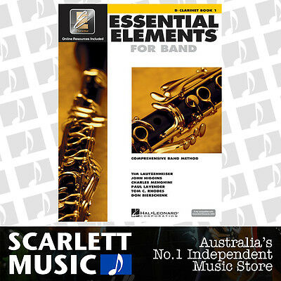 Essential Elements For Band Book 1 (One / First) - Bb Clarinet w/ EE Interactive