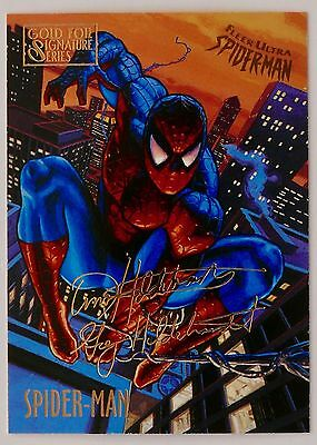 Spider-Man Premiere - Gold Foil Signature 149 Card Set -  Komplett