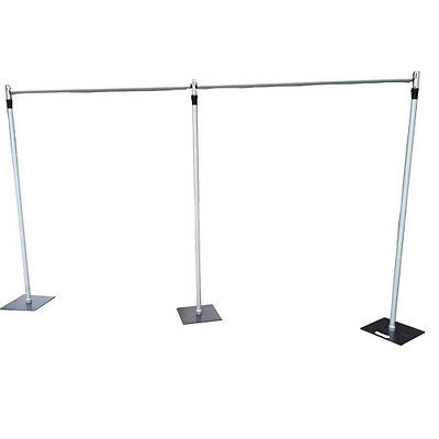Heavy Duty 6Mx3M Telescopic Wedding Backdrop Stand, Pipe and Drape System