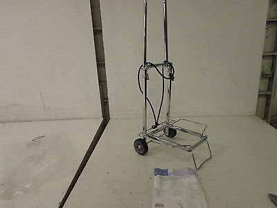 """Sparco Compact Luggage Cart, 150 lbs., Open 14.75 x 13.75 x 35"""", SPR01753"""