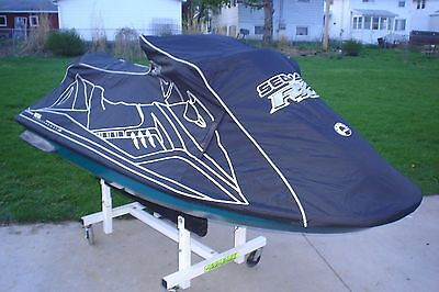 SEA DOO RXT Cover Black 2005 & 2006 With Dealer Logo New OEM