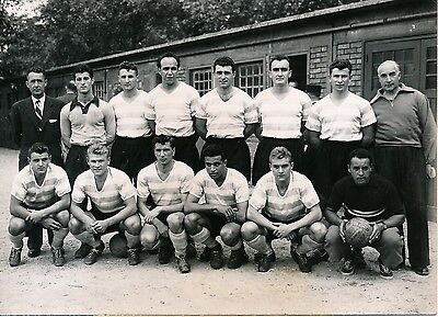 Le RACING CLUB DE PARIS Equipe de Football 1952 - PR 19